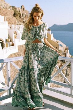 Kombi Buttondown Maxi Skirt | Spell & the Gypsy