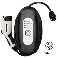 LCS-25, 20 amp. The most advanced level 2 residential electric vehicle (EV) charge station now available with a plug for easy installation.