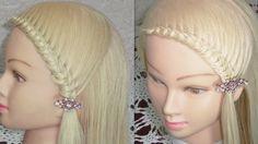Peinado de Moda; con Nudos♥ /knotted hairstyle /завязанный прическа