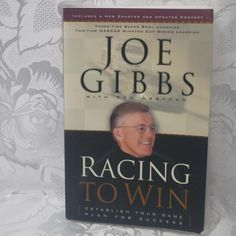 Racing To Win With Joe Gibbs in Books > Nonfiction Paper Gift Bags, Paper Gifts, Mirror Clips, Teapots And Cups, New Chapter, Nonfiction, Magazines, Racing, Comics