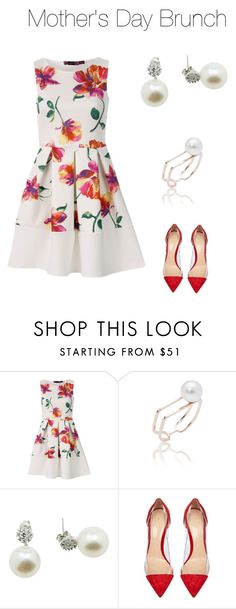 """""""Mother's Day"""" by dearmissj on Polyvore featuring Gianvito Rossi, flower, ootd and MothersDayBrunch"""