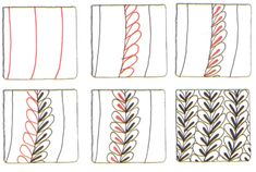 tangle pattern instructions BLOG.SUZANNEMCNEILL.COM: Hip Hemp Jewelry