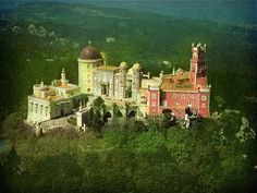 """ The Pena Palace"" - Sintra/Portugal"