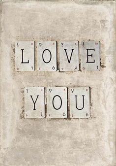 Framed Love Print