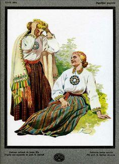 1924 Latvia Design Costumes Textile Ceramics Ancient Latvian Patterns Portfolio | eBay