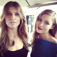 Ivana Milicevic, San Diego Comic-Con 2013 | Picture perfect @ivana milicevic & @liliflower33 #sdccbanshee