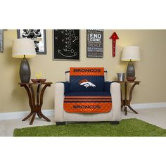 f2cad6e44 Pegasus NFL Licensed Denver Broncos Chair Protector (Chair Protector)