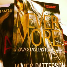 Repin if you've read The Angel Experiment through Nevermore in the Maximum Ride series! Or if you haven't, no judging.