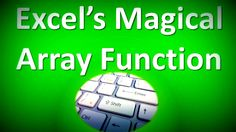 Excel Formula to Make Magic & get rid of Unnecessary Steps