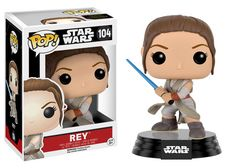 104 Rey with Lightsaber