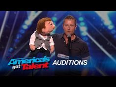 Paul Zerdin: Funny Ventriloquist and Puppet Share the Language of Love - America's Got Talent 2015 - YouTube