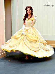 mydisneyadventures: Belle on Flickr. Disney Wedding Dresses, Disney Princess Dresses, Pakistani Wedding Dresses, Wedding Hijab, Disney Princesses, Belle Cosplay, Disney Cosplay, Disney Costumes, Belle Beauty And The Beast