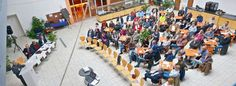 Rund 80 Zuhörer kamen zur 46. Katernberg-Konferenz in der Lohnhalle des Triple Z. Dabei stand auch das Thema Salafismus
