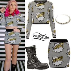 Perrie Edwards on Steal Her Style