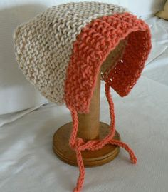 Invisible Loom Innovative Patterns for Loom Knitters: Baby's Sweet Bonnet - A Loom Knit Pattern