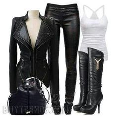 Can u say hot biker chick :)