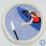 Without a paddle Demerit badge