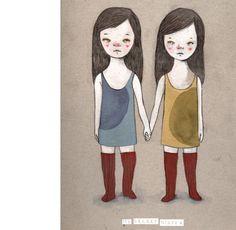 My secret sister, by Neus Lozano