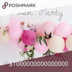 🎈I'm Hosting a Party!🎈 🎀 I'm Hosting a Party & You're Invited! 🎀  Date: October 2, 2016 (My Birthday!) Time: 10:00 PM EST Theme: TBA Co-Hosts: @mtnhiker  I'll be keeping an eye out for: 🌿 Posh compliant closets 🌿 Gorgeous covershots 🌿 Poshers with high share numbers  Let's party! 🍾  xoxo, Erica 🍾 Other