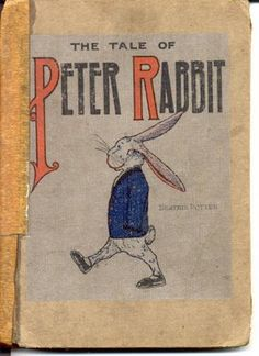 Peter Rabbit - Beatrix Potter. Sweet memories of reading this with my mom.