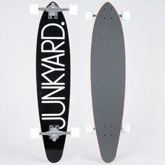 Longboard - 38 One Line Black