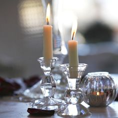 Chic Rustique Wedding Hire and Styling Products ~ www.chicrustique.com.au ~ Vintage Wedding Candles ~ Crystal Candlestick ~ Simple Candlestick ~