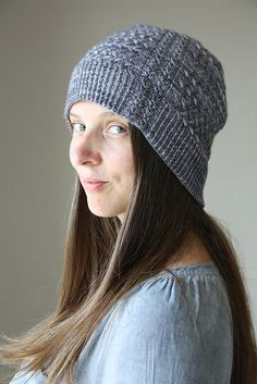 Ravelry: Qwist Hat pattern by Melanie Berg, matching mitts pattern also available