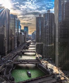 Chicago River Views. | IRPINO Construction: Residential & Commercial Construction in Chicago. #Construction #Chicago http://www.irpinoconstruction.com/