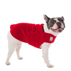 Please note: If your dog is not a French Bulldog, or is a mixed breed dog, please contact us about making a custom coat for your dog.  Please