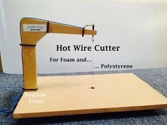 How to make a Hot Wire Cutter for foam or polystyrene. cosplay, lost foam casting etc. Swallow Forge - YouTube