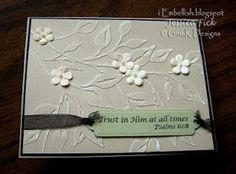 iEmbellish: Simple Cuttlebug Cards