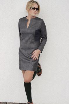 Kleid genäht nach einem Burdstyleschnitt