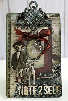 Hi everyone!  Today I have just a few projects from Creativation (CHA) that were designed for the Tim Holtz booth that I haven