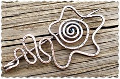 Art Jewelry Elements: Saturday Share...Free-form Wire Fibula
