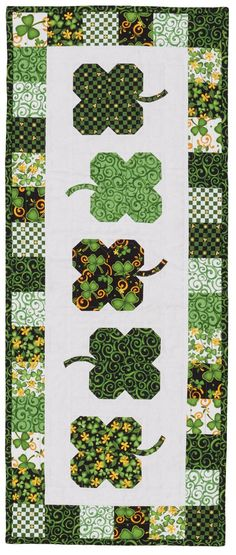 Luck O' the Irish - Table Runner Quilt Patterns