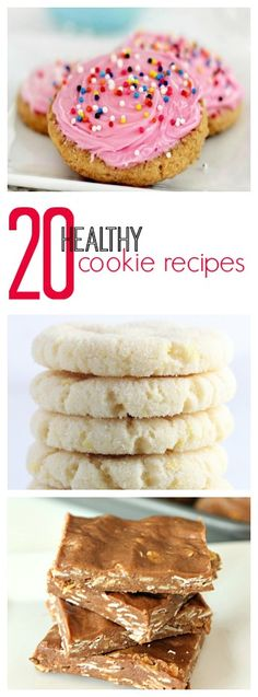 20 of the Best Healthy Cookie Recipes on Tone-and-Tighten.com