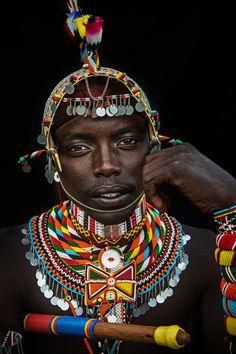 Samburu Moran, Kenya