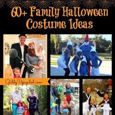 "giddyupcycled: ""60+ Family Halloween Costume Ideas#halloween #costumeideas #diy"""