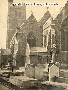 St Mary-at-lambeth, Lambeth South London, New South, Vintage London, Old London, Old Photos, Vintage Photos, Waterloo Station, London History, My Family History