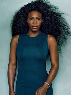 Serena Williams by Annie Leibovitz for Vogue US April 2015, http://itcolossal.com/serena-williams/