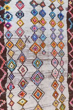 Vintage Moroccan  Azilal Rug  - Boutique Maroc - $696.44 - domino.com