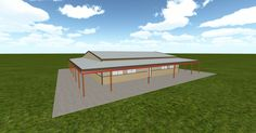 Cool 3D #marketing http://ift.tt/2sDSXQR #barn #workshop #greenhouse #garage #roofing #DIY