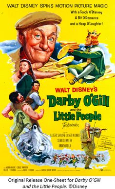 *Darby O'Gill and the Little People... the only movie in which I have witnessed Sean Connery singing.