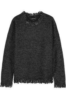 Isabel Marant Douglas knitted jumper | NET-A-PORTER