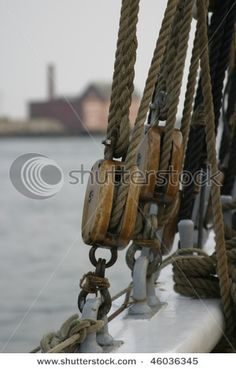 Pulley Pulleys And Gears, Classic Sailing, Seafarer, Lighthouses, Sailboat, Seas, Knots, Third, Nautical