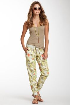 Marrakech Printed Zip Lounge Pant