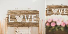 Láska je vo vzduchu! Pozrite si a inšpirujte sa Valentínske dekoráciami z dreva s romantickým nápisom. Valentínske dekorácie, nápady, diy, tabule, handmade