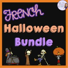 This BUNDLE is full of fun speaking and writing activities, interactive games, vocabulary printables, decorations, and more! Full of fun stuff for core French and FSL students. Click here to see more!