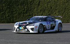 De Gazoo Racing Lexus LFA Código X golpea la pista: Video