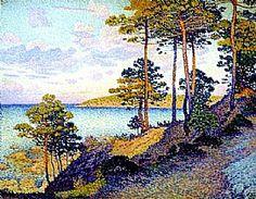 Pointe Saint Pierre - Saint Tropez, Théo van Rysselberghe - Grands Peintres / Van Rysselberghe